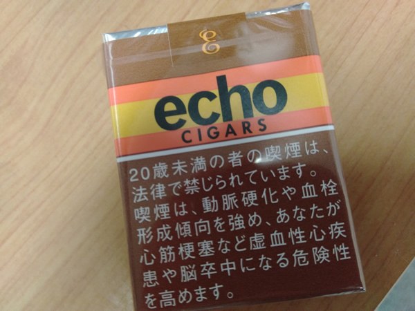 新発売のエコーシガー(echo CIGARS)を買ってみた